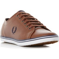 Fred Perry Kingston Leathe Leather Trainers, Tan