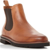 Dune Quart Cleated Chelsea Boots, Tan - Chelsea Gifts