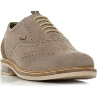 Barbour Redcar Lightweight Brogue Shoes, Taupe