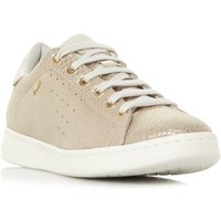 Geox D Jaysen Cupsole Sneaker Trainers, Gold