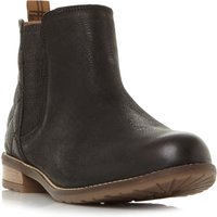 Barbour Abigail Quilted Back Chelsea Boots, Black