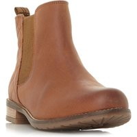 Barbour Abigail Quilted Back Chelsea Boots, Tan