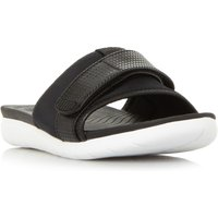 FitFlop Neoflex Slide SVelcro Sliders, Black