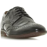 Howick Profit Padded Ankle Brogues, Black