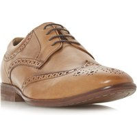 Howick Profit Padded Ankle Brogues, Tan