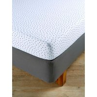 Christy Speckles Jersey Fitted Sheet
