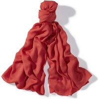 Henri Lloyd Skye Woven Textured Scarf, Red