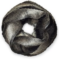James Lakeland Faux Fur Snood, Black