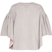 Ted Baker Orcher Wool And Cashmere-Blend Jumper, Light Grey