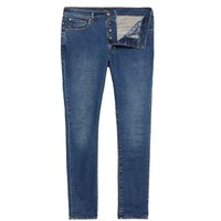 Men's Ted Baker Woodman Tapered Fit Jeans, Denim Mid Wash