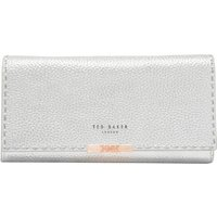 Ted Baker Janet Leather Matinee Purse With Chain Strap, Silver
