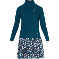 Ted Baker Thiago Wool-Blend Pleated Skirt Jumper Dress, Teal