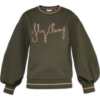 Ted Baker Abileen Fly Away Full Sleeve Jumper, Khaki
