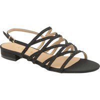 Ravel Hanna Flat Sandals, Nearly Black