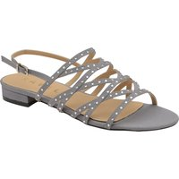 Ravel Hanna Flat Sandals, Pewter