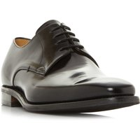 Barker Lyle Hi-Shine Plain Toe Gibson Shoes, Black