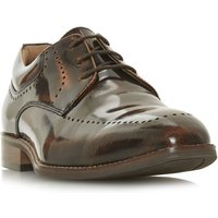 Howick Pelican Punched Apron Gibson Shoes, Tan