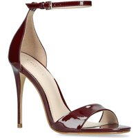 Carvela Glimmer Sandals, Wine at House of Fraser