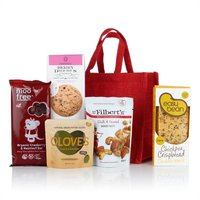 Virginia Hayward Gluten & Wheat Free Jute Bag Hamper