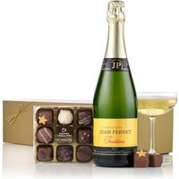 Virginia Hayward Champagne & Chocolates Gift