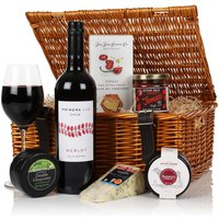 Virginia Hayward The Cheese & Wine Hamper