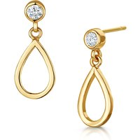 Infinity & Co Love Story Earring, Yellow