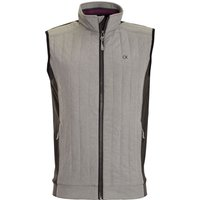 Men's Calvin Klein Golf Cyclone Padded Gilet, Silver