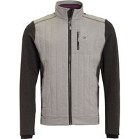 Men's Calvin Klein Golf Cyclone Padded Jacket, Silver