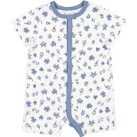 Polarn O. Pyret Babies Floral All-In-One Pyjamas, Snow