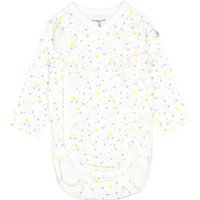 Polarn O. Pyret Baby Girls Ditsy Floral Bodysuit, White - Floral Gifts