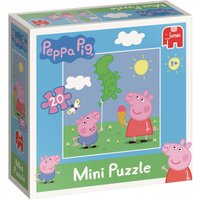 Peppa Pig 20-Piece Mini Jigsaw puzzle - Jigsaw Puzzle Gifts