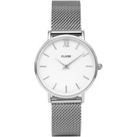 Cluse Minuit Mesh Watch, Silver