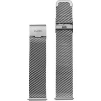 Cluse Minuit Mesh Strap Watch, Silver