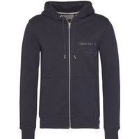 Men's Calvin Klein Hasto Slim Fit Zip Through Hoody, Blue