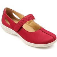 Hotter Original Shake Ladies Shoes, Crimson - Shoes Gifts