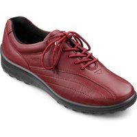 Hotter Tone lightweight and long-lasting Shoes, Red