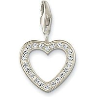 Thomas Sabo Charm Club open Heart, White