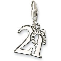 Thomas Sabo Charm Club Lucky Number 21, Silver