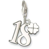 Thomas Sabo Charm Club Lucky Number 18, Silver