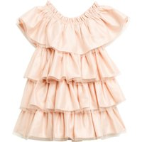 Bardot Baby Baby Girl Tiered Ruffle Dress, Pink - Seek Gifts