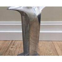 Liberty of London cast aluminium modernist retro shop display torso Midcentury