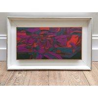 Welsh artist Selwyn Jones (b.19281998) abstract oil on board