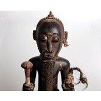 Baoule/Baule Asye Usu (Bush Spirit) Figure