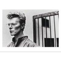HELMUT NEWTON David Bowie hand numbered vintage print c1984 large (Limited edition of 250. Atelier Jobim, Paris)