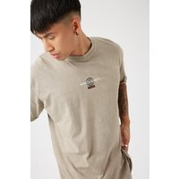 Brown Oversized Co Ordinates T-shirt