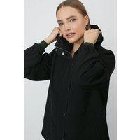 Coast Zip Through Lightweight Jacket -, Black