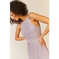 Coast All Over Pleated Maxi Dress -, Lilac