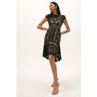 Coast Deedee Lace Dress -, Black