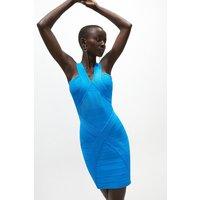 Coast Mini Bandage Dress -, Blue