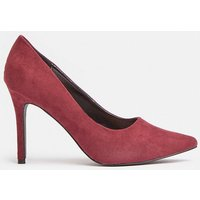 Coast Pointed Court Shoe -, Red
